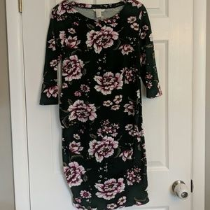 H&M Mama Maternity Floral Dress